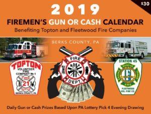 gun raffle calendar